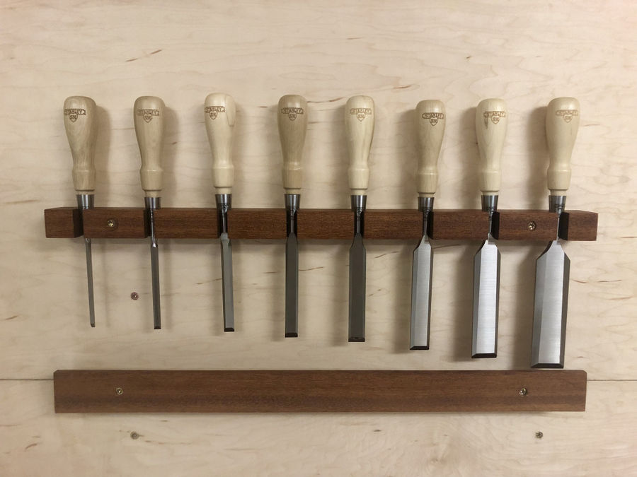 Photo of Afzelia Chisel Rack