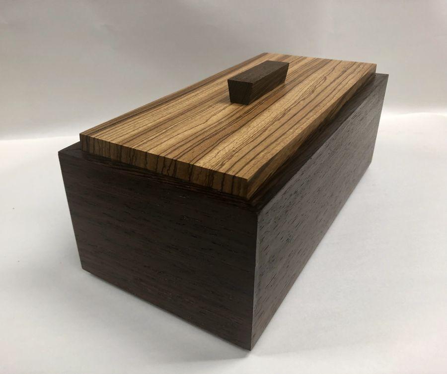 Photo of Wenge And Zebrano Box