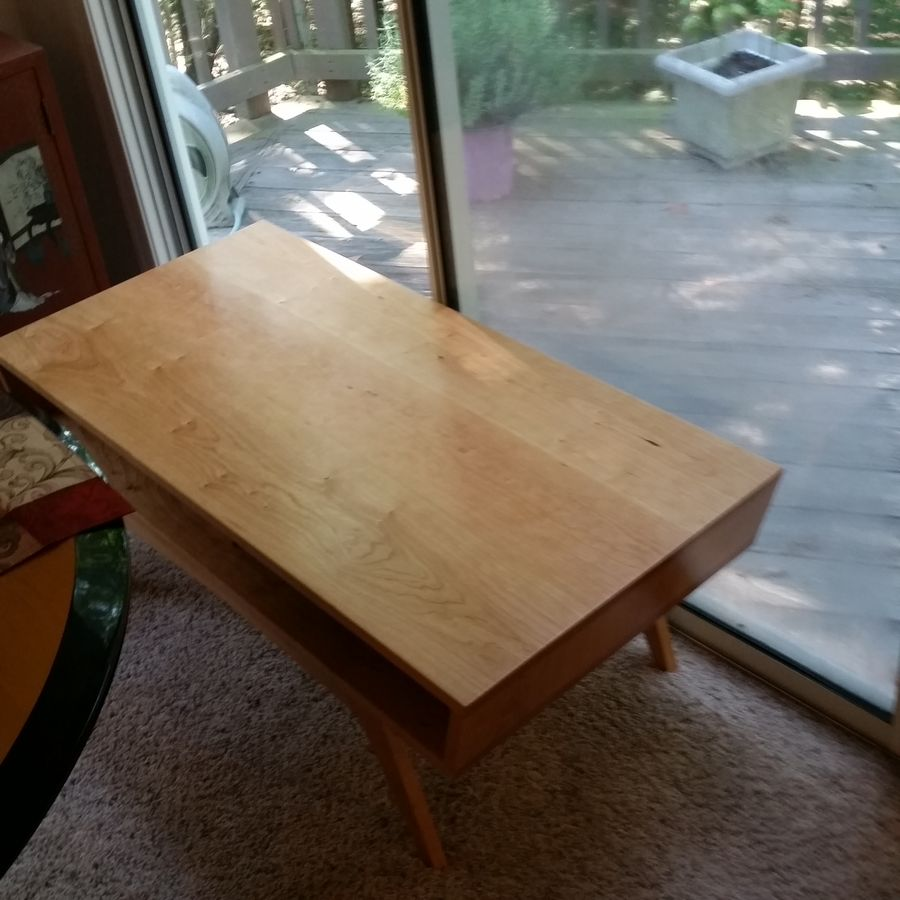 Photo of Mcm Cherry Coffee Table