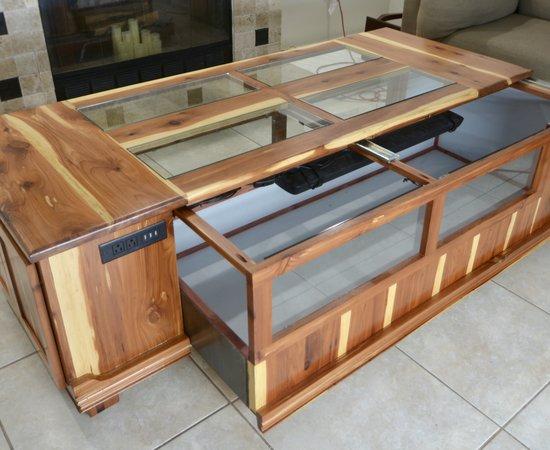 Terrarium Coffee Table Build