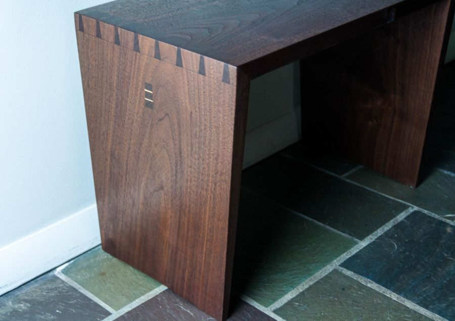 Photo of Dovetailed Bench/Side Table
