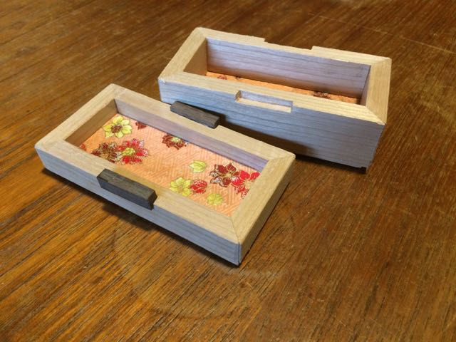 Photo of Box 37 - Cherry With Japanese Paper