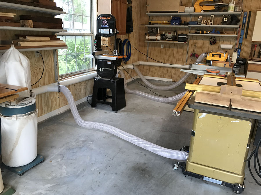 Photo of Unlimited Power!!!...And Dust Collection Too.