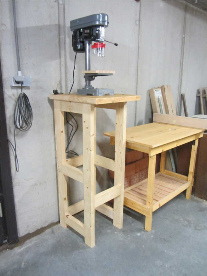 Photo of 40x90 Drill Press Stand