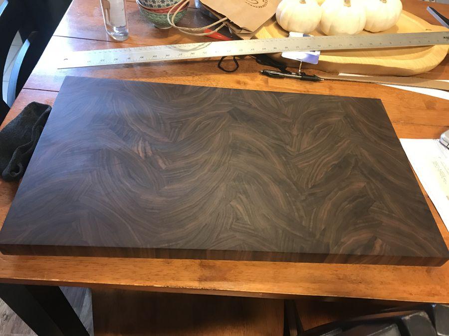Photo of Herringbone Cutting Board