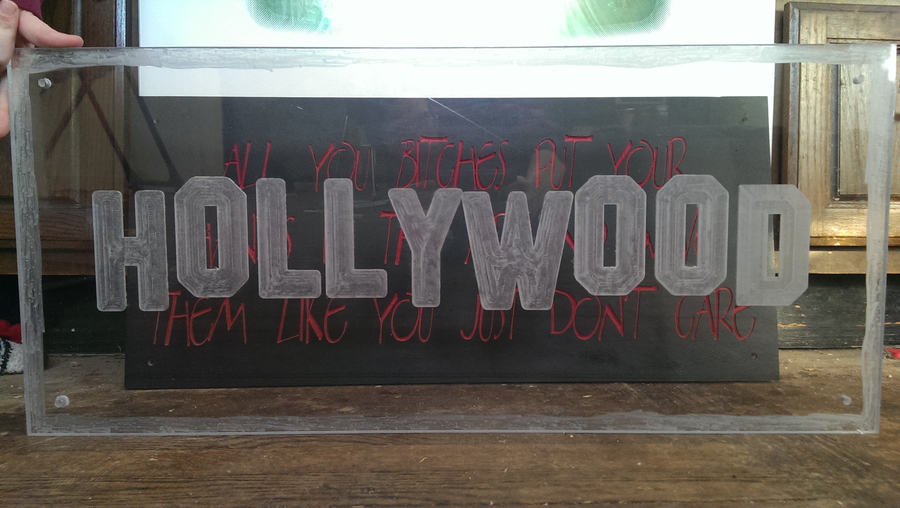 Photo of Hollywood Art Piece