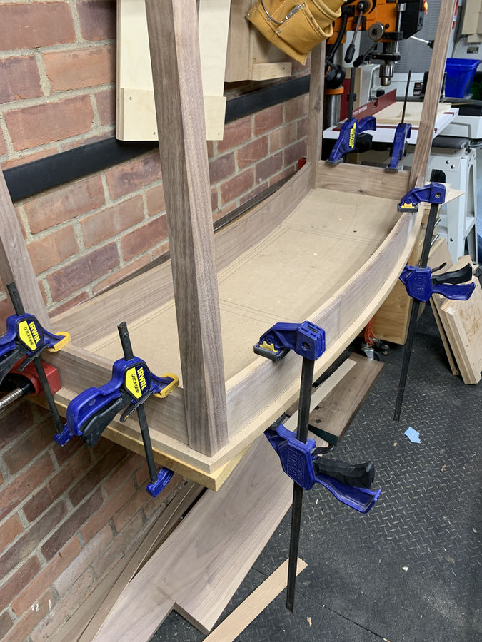 Photo of Bowfront Hall Table