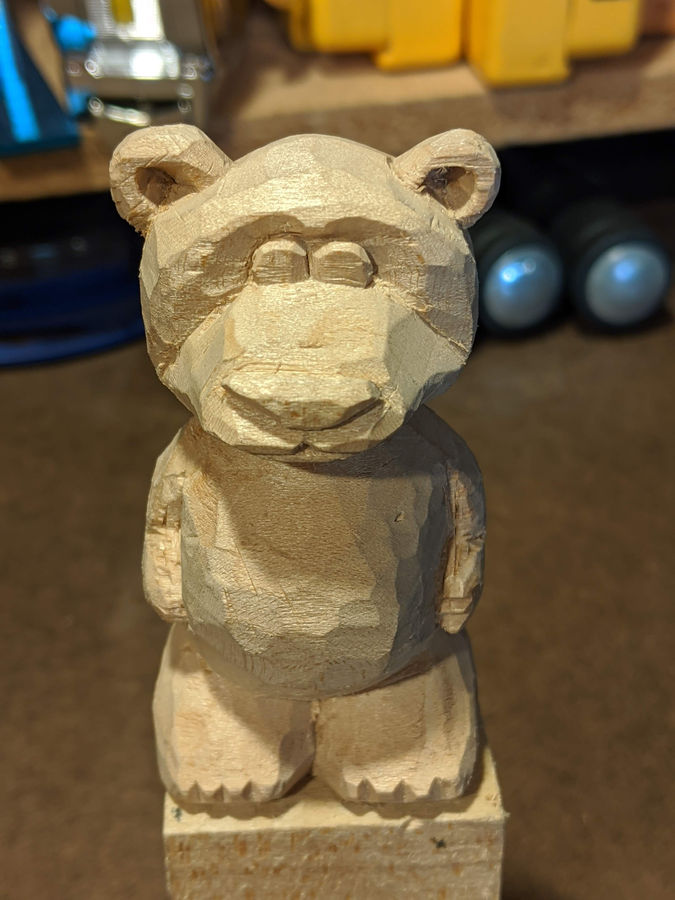 Photo of Carved Bear