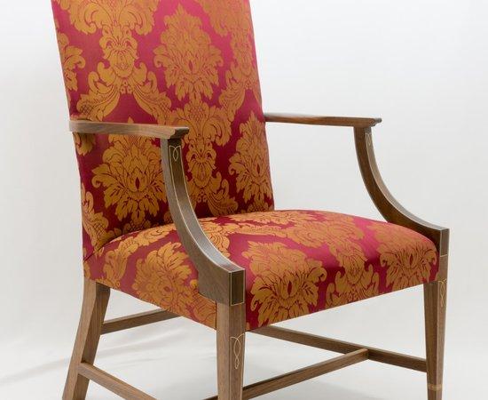 Lolling Chair (aka Martha Washington chair)