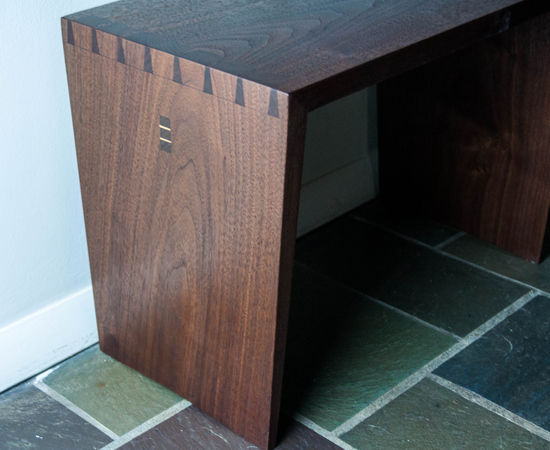 Dovetailed Bench/Side Table