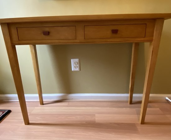 Entry Table Using Brazilian Cherry
