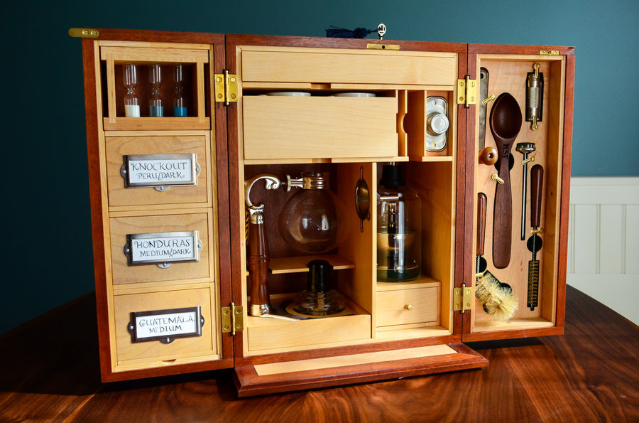 Photo of Campaign Style Coffee Chest