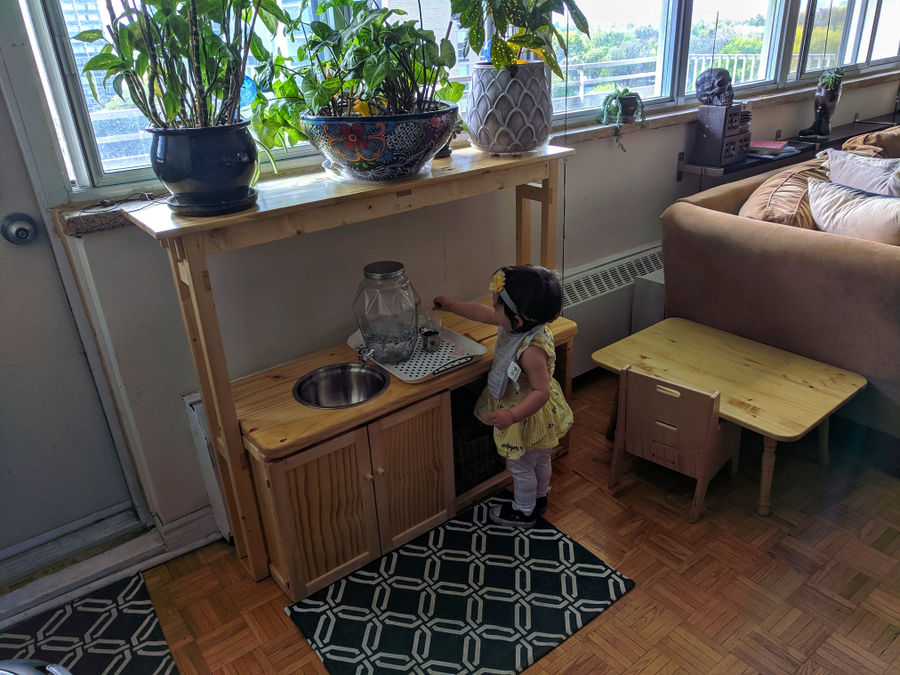 Photo of Child's kitchen