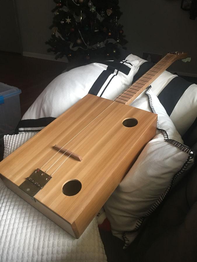 Photo of Cigar box guitar