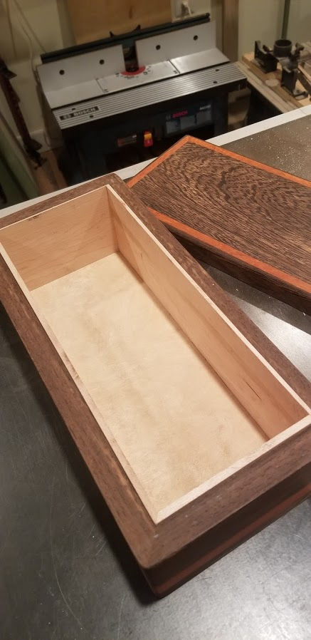 Photo of Wenge And Padauk Box