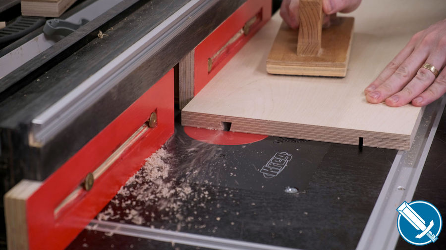 Photo of Tablesaw Tapering Jig