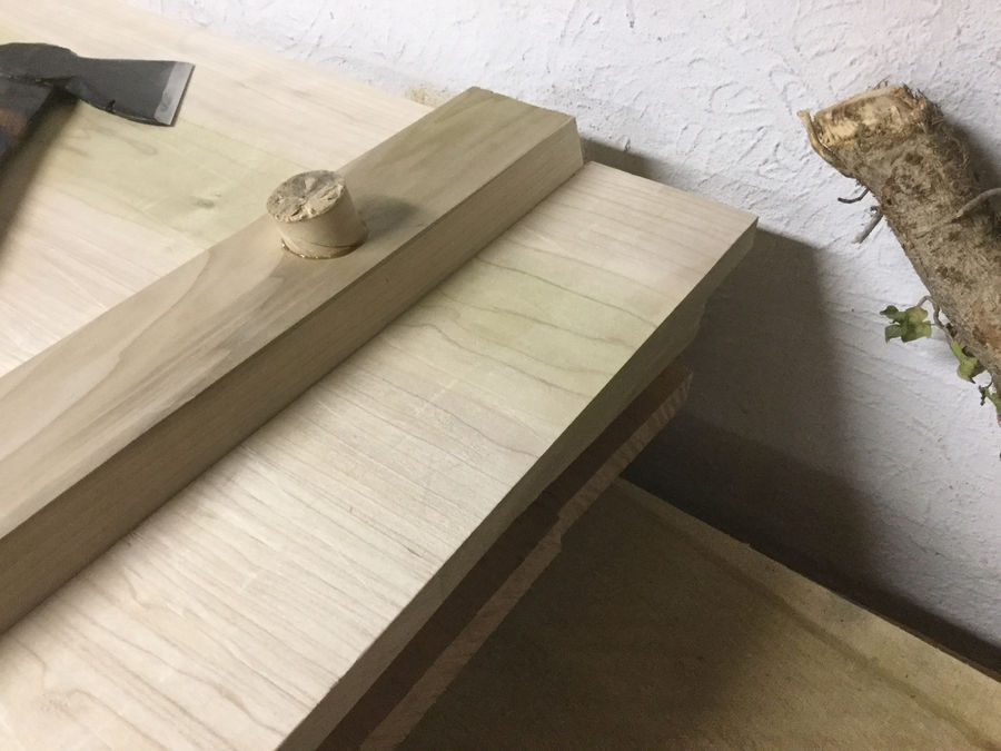 Photo of Staked Coffee Table (Based On Adb Work Table)