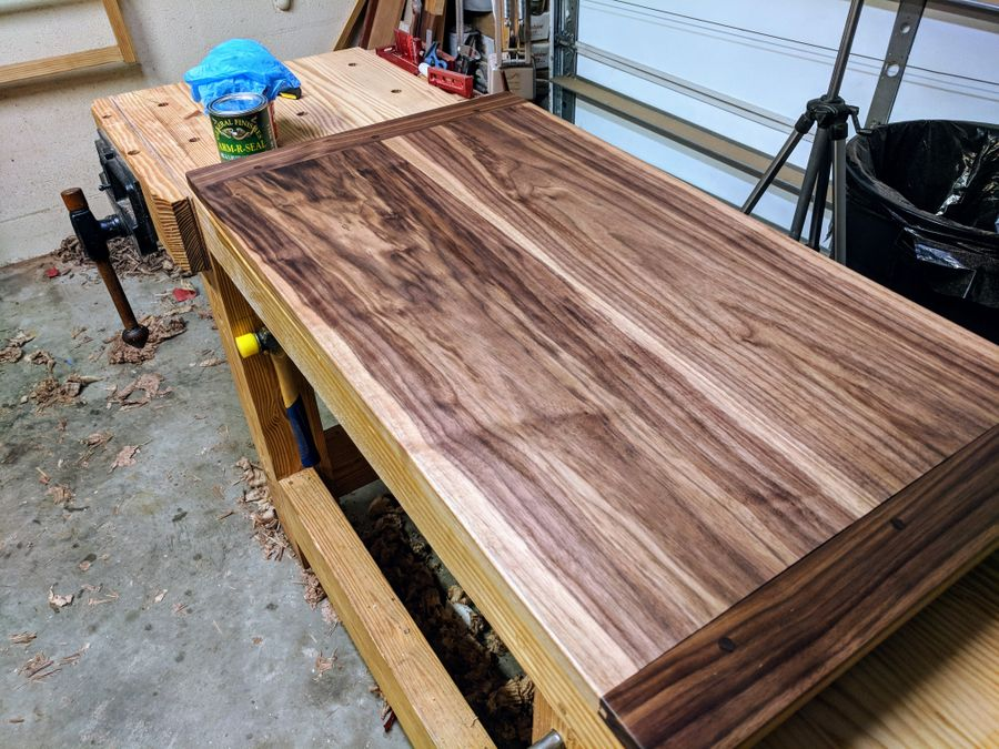 Photo of Walnut Table Top