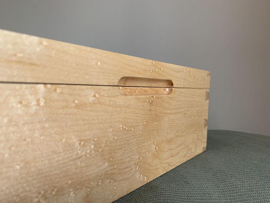 Photo of Dovetail Keepsake Box