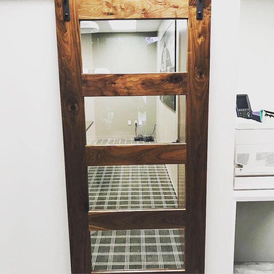 Photo of Walnut Barn Door