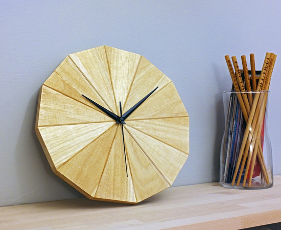 The Dodecagon Clock