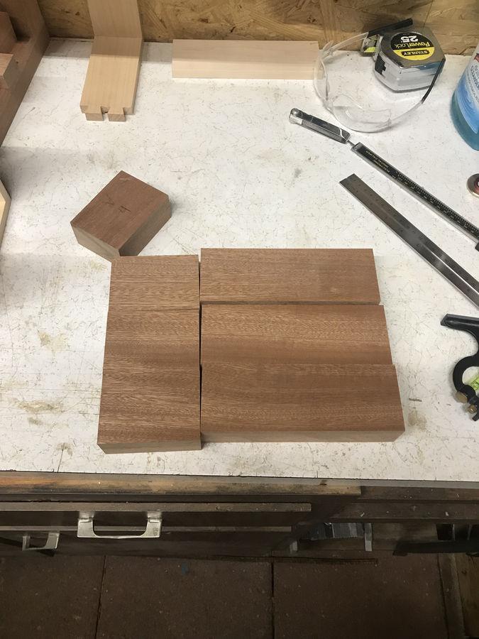 Photo of Maple and Sapele Jewelery Box