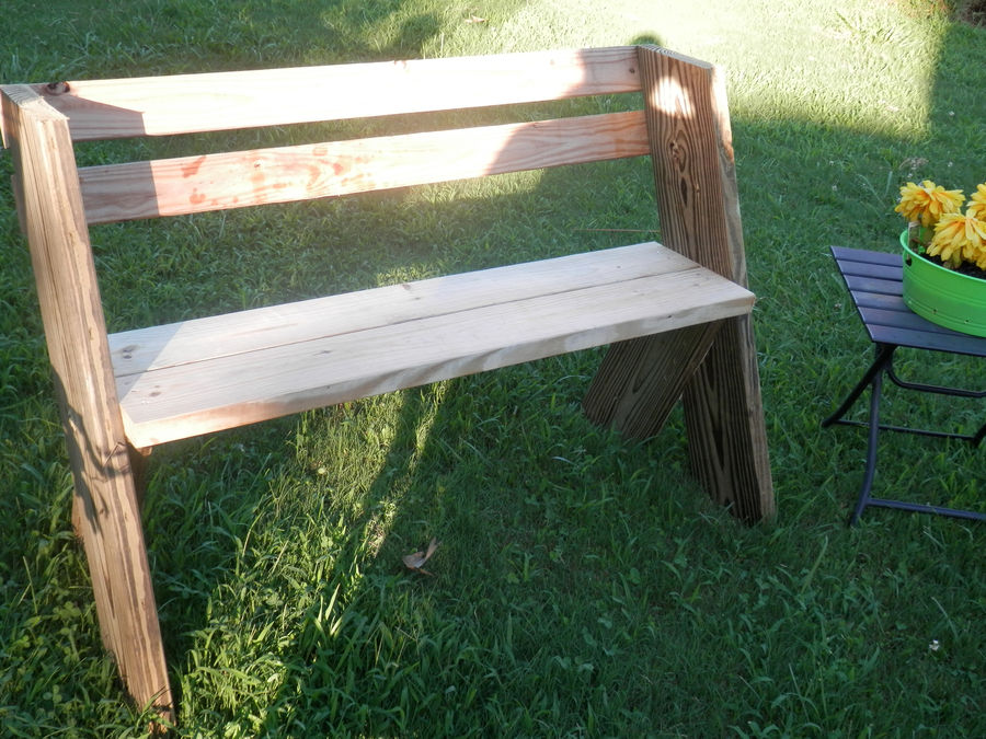 Awesome Leopold Style Garden Bench By Grimster Simplecove Alphanode Cool Chair Designs And Ideas Alphanodeonline
