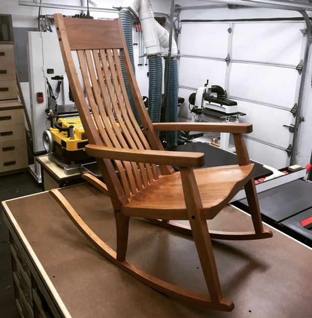 "Photo of Scott Morrison's ""Simple Rocker"""
