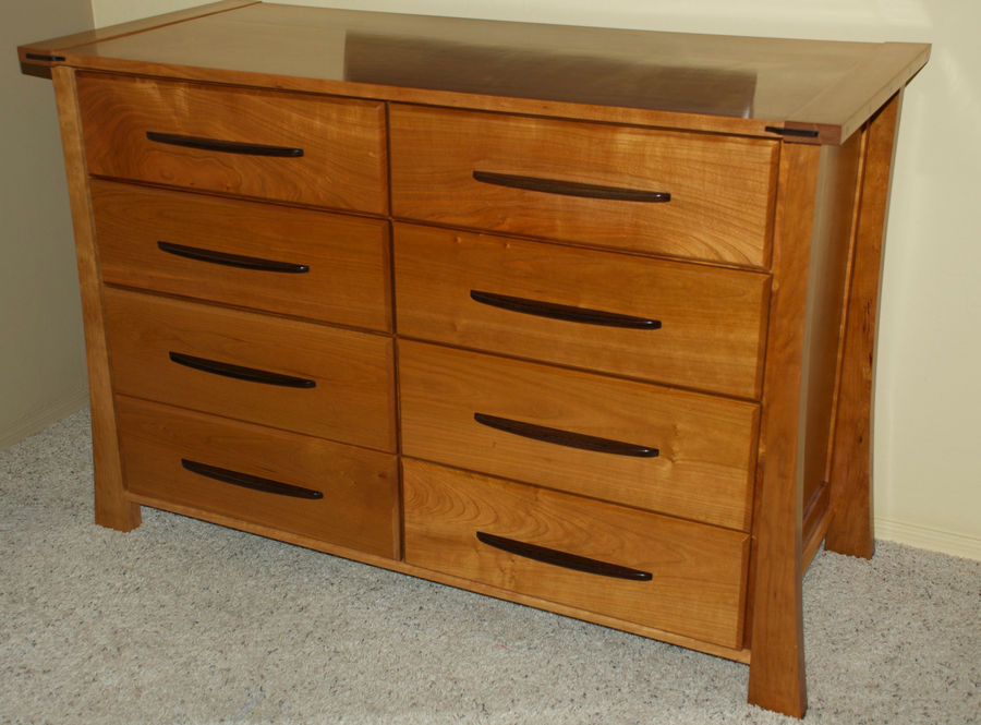 Photo of Cherry and Wenge Dresser