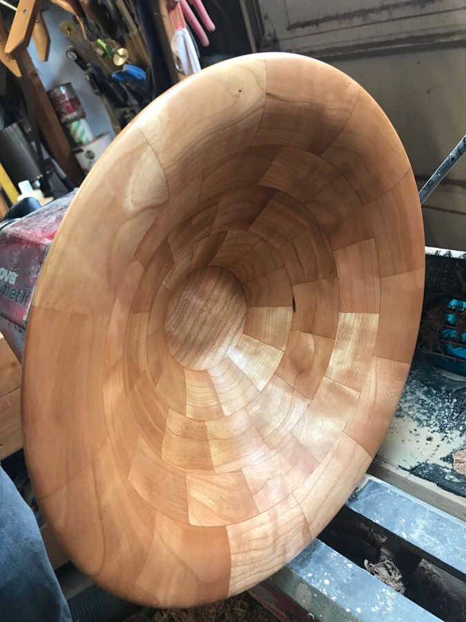 Photo of Fruit Bowl in Curly Cherry