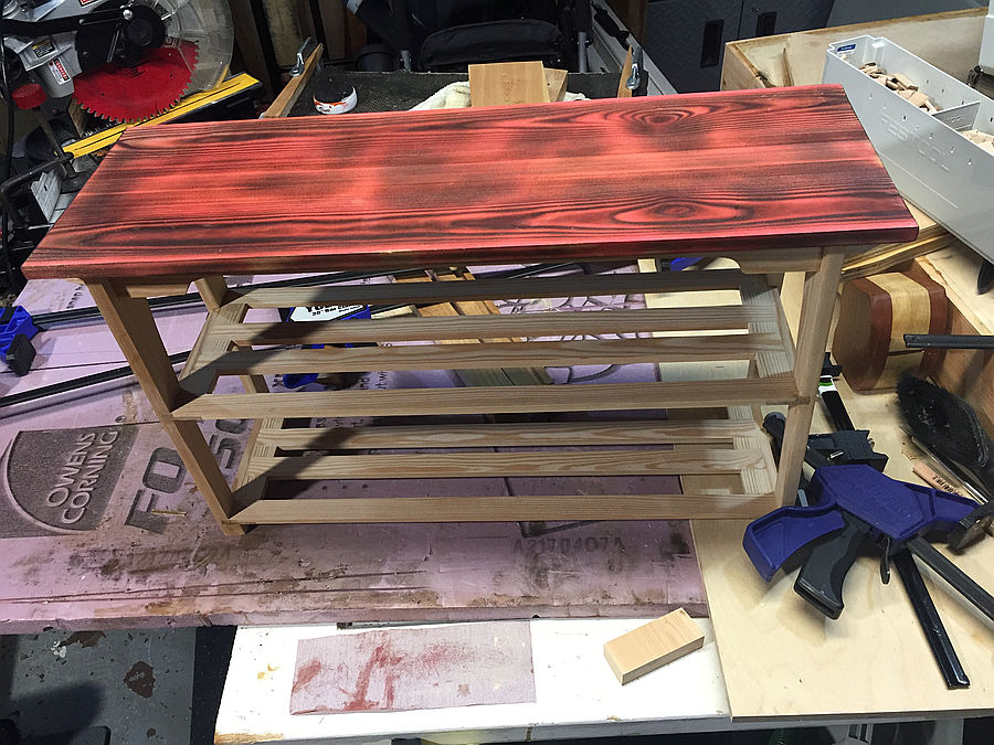 Photo of Shoe Bench For The Mrs...