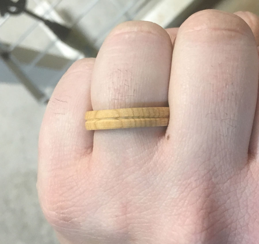Photo of Custom Turned Ring