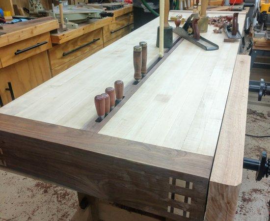 Samurai Carpenter Workbench