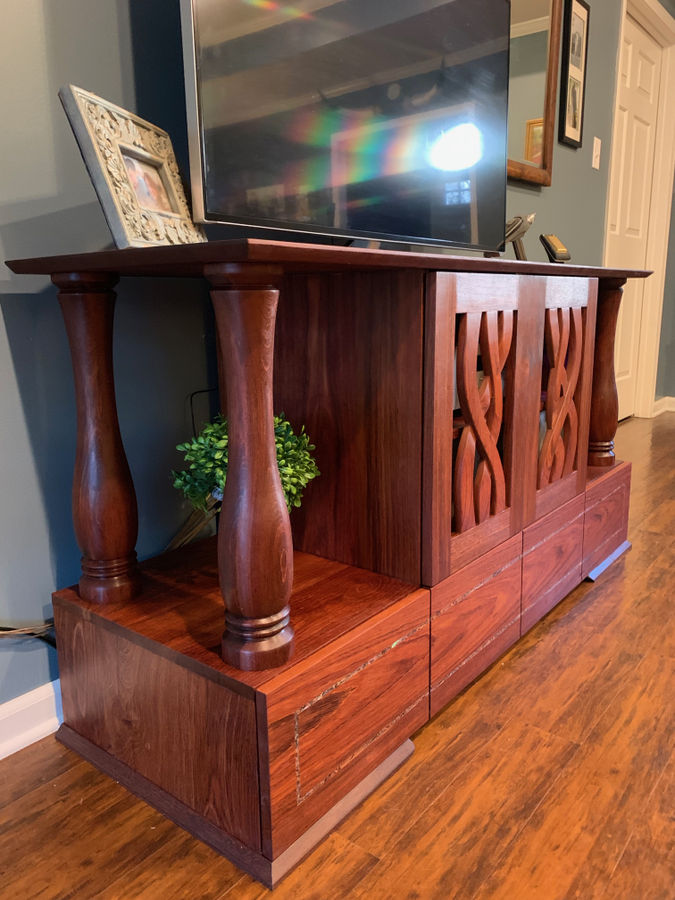 Photo of Jatoba Media Cabinet