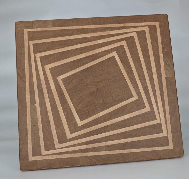 Photo of Twist end grain board
