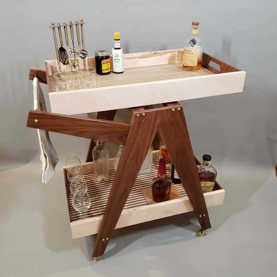 Photo of Convertible Bar Cart