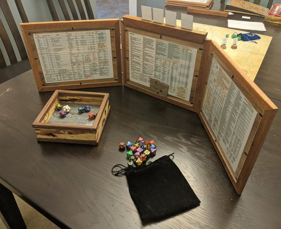 Dungeons and Dragons DM Screens