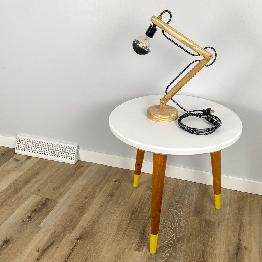 Photo of Turned Articulating Lamp