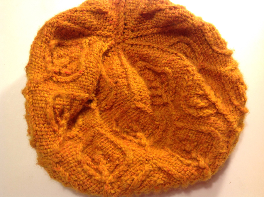 Photo of Leafy Hat In Merino Wool