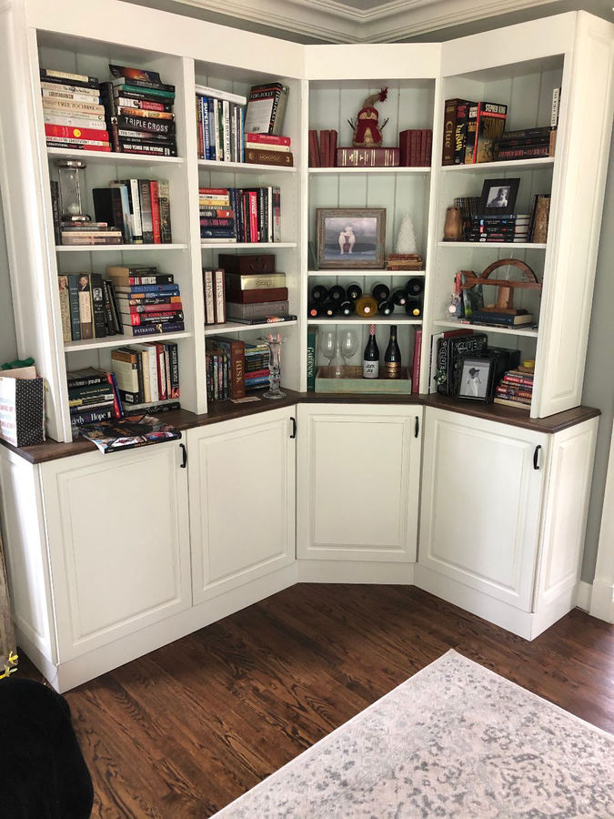 Photo of Living Room Cabinetry and Bookcases