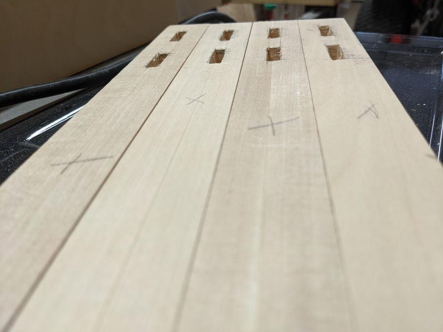 Photo of Yellow Birch & Oak End Table