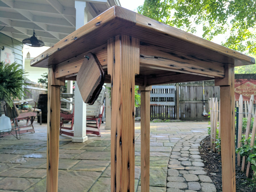 Photo of Reclaimed Timber Porch Table