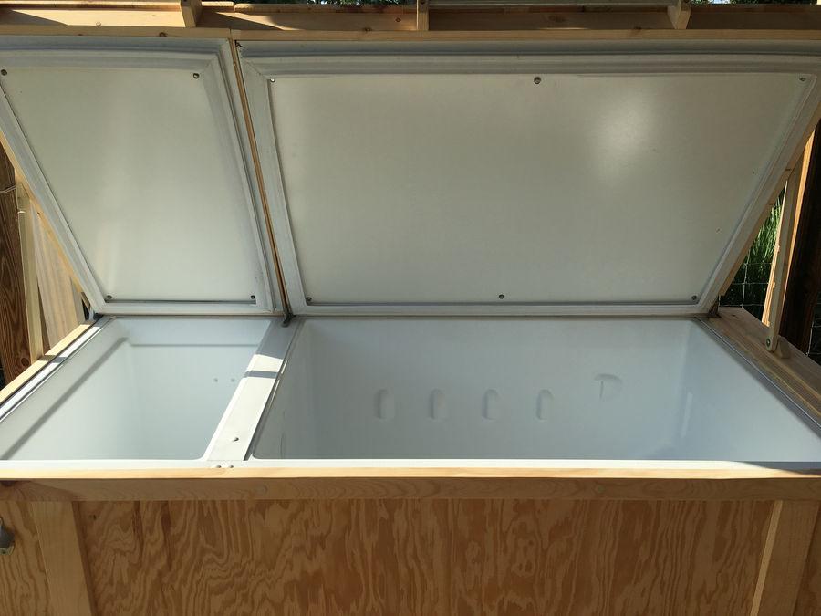 Photo of Broken Refrigerator Turned Into Deep Cooler