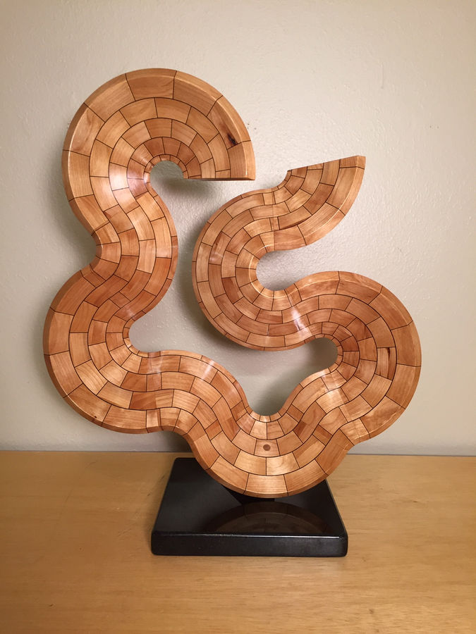 Photo of Segmented Turned Sculpture