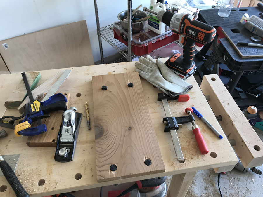 Photo of Bench Top Drill Press Shoe.