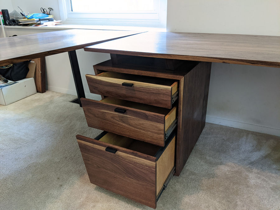 Photo of Midcentury Desk and Table