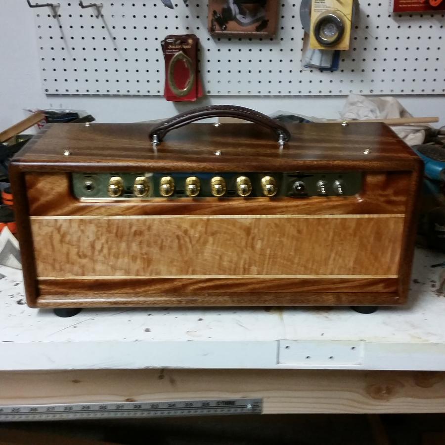 Photo of Custom Amp Head Cabinet