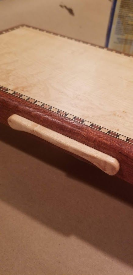 Photo of Music/Jewelry Box In Leopardwood With Reuge 36 Note Movement