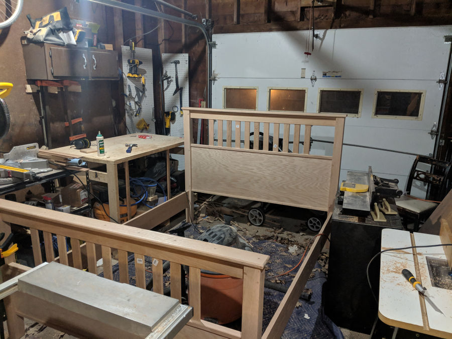 Photo of Rustic Mission Style Bed