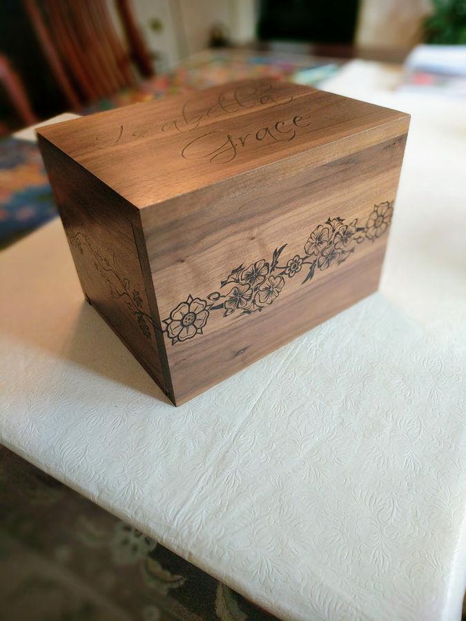 Photo of Sweet Sixteen Card Box